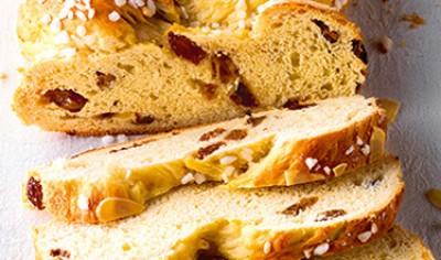 Tresse de pain sucré [Süsser Hefezopf]